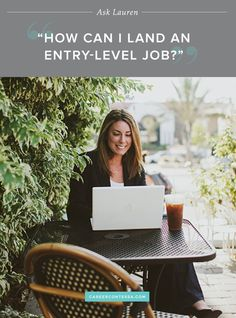 The entry-level job search can be terrifying. In this week's #AskLauren, we've got you covered. | Career Contessa | By: Lauren McGoodwin