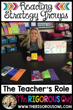 The Teacher's Role in Reading Strategy Groups