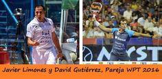 Javier Limones y David Gutiérrez serán una de las nuevas parejas world padel tour para 2016