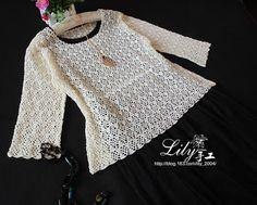 Irish crochet &: CROCHET BLOUSE