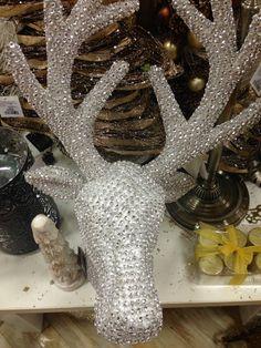 Christmas Decor | Homesense Blinged out deer!