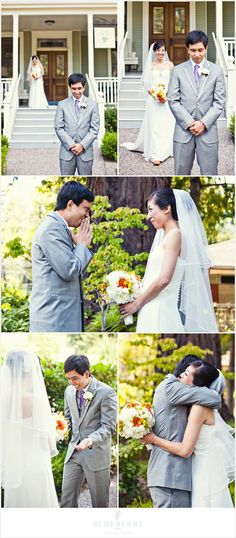 Be prepared to be wowed by this next wedding! Frankie and Danvin were married at the Theological Seminary in San Anselmo. Wedding First Look, Wedding Guest Looks, Next Wedding, Dream Wedding, Summer Wedding, Wedding Photography Poses, Wedding Poses, Photography Ideas, Wedding Ideas