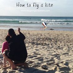 How to fly a kite tutorial. Great windy day outdoor activity for kids. Outdoor Learning, Kids Learning, Outdoor Activities For Toddlers, Kid Activities, Go Fly A Kite, Windy Day, Get Outdoors, Exercise For Kids, Fun Math