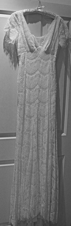 Stunning Alice Temperley Honeybird Wedding dress size 10