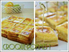 Un gâteau préparé en 15 minutes, le temps de préchauffer le four, avec des ingrédients tout simples, j'adore !! Ingrédients pour le moule tablette Demarle : - 8 tranches de brioche (maison ou pas!) - 2 pommes (golden pour moi) - 20-25 cl de crème fraîche...