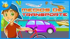 Los Medios de Transporte   Videos Educativos para Niños