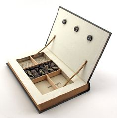 A book jewelry box! So cute!