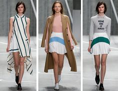 Rene may have done it first but methinks @lacoste is better than ever for #AW15 #lacoste #NYFW #catwalk
