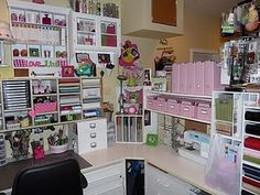 Crafty Storage - this whole website is full of amazing storage solutions!