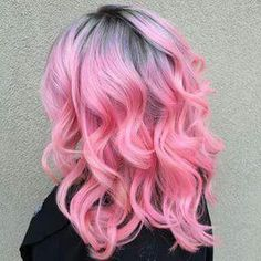 Ombre pink grey