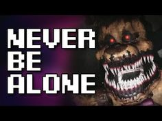 """FNAF VR Music Video   """"Never Be Alone"""" by Shadrow - YouTube Vr Music, Fnaf Song, Never Be Alone, Youtubers, Music Videos, Make It Yourself, Songs, Board, Song Books"""