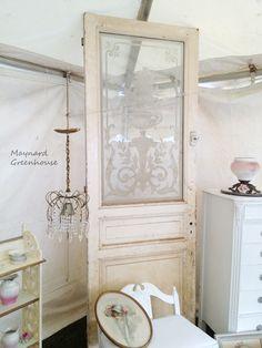 *Maynard Greenhouse: Brimfield 2012... in LUV with this door!