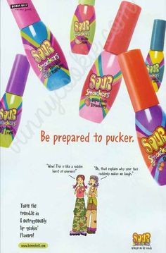 Crimes Against Makeup That Were Committed In 2004 And you loved reapplying your Sour Smackers because it was basically candy and not lip gloss.And you loved reapplying your Sour Smackers because it was basically candy and not lip gloss. Maybelline Lip Gloss, 1990s Kids, Childhood Memories 90s, Love The 90s, Eye Brushes, 90s Nostalgia, Lip Balm, Growing Up, Makeup Trends