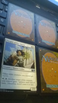 Paragon of New Dawns uncommon M15 Magic The Gathering plus 3 bonus card(s)