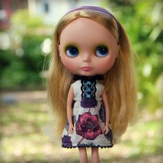 The Explorers Collection: Exotica No.1 dress for Blythe dolls