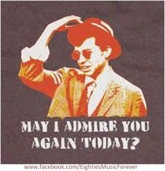 I love Pretty In Pink. Without a doubt one of my favorite movies. Duckie is my favorite part of this movie! 90s Movies, Great Movies, Awesome Movies, Awesome Stuff, Tv Quotes, Movie Quotes, Silly Quotes, Love Movie, Movie Tv
