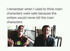 J.K Rowling gets an applause for killing like 100 beloved characters yet has one of the best book series of all time.