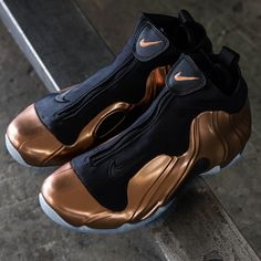 "56ad9da30f57 Nike Air Flightposite 2014 Premium - ""Copper"""