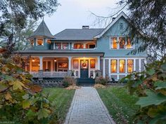 Gorgeous Shingle style architecture designed and built in 1899 by Richard Sharp Smith located at: 288 Montford Ave, Asheville, NC 28801
