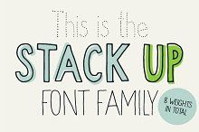 Stack up - The universal font family