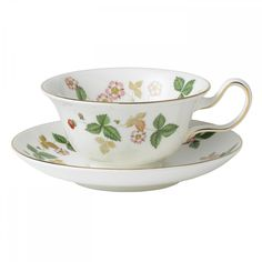 Wild Strawberry Peony Teacup (Set of 4)