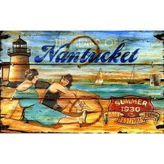 I pinned this Nantucket Sign from the Red Horse Signs event at Joss & Main!