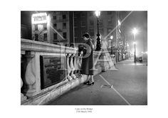 March O'Connell Bridge, Dublin. A well-dressed young lady checks the evening paper while waiting for…. Fine Art Photo, Photo Art, History Photos, Press Photo, Photo Archive, More Photos, Dublin, Ireland, Fine Art Prints
