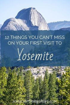 Yosemite National Park is one of the most beautiful places in California, and should be on everybody's bucket lists!  Planning an itinerary for your family vacation can be a challenge though, that is why I'm sharing this list of 12 things to do in Yosemite.  Whether you are hiking with kids, camping with families, or are on a solo photography adventure this list will give you the tips you need to do the best hikes and make the most of your road trip! Don't miss #6! Beautiful Places In California, Beautiful Places In America, Beautiful Places To Visit, Cool Places To Visit, California National Parks, Yosemite National Park, Hiking With Kids, Hiking Tips, Best Hikes