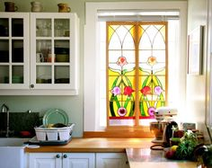Stained Glass Gives Your Home Personality