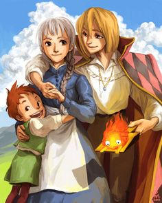 Howl's Moving Castle by ~flominowa on deviantART