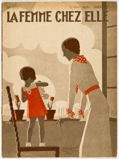 La Femme Chez Elle magazine, 15 May 1931