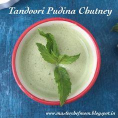 MASTERCHEFMOM: Tandoori Pudina Chutney | Restaurant Style Mint Ch...
