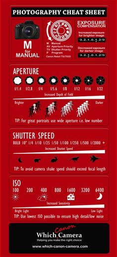 Photography Cheat Sheets - Amazing Tips For Brilliant Photos! (2)