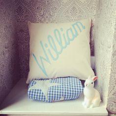 Newborn baby William  #cushion Cheeky Sew & Sew