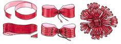 <h1>Como hacer moños para tus regalos (Navidad, cumpleaños, etc)</h1> : VCTRY's BLOG