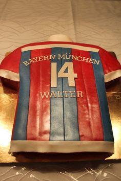 FC Bayern Munich Shirt  Cake / FC Bayern München Trikot Torte
