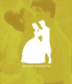 """Tiana & Prince Naveen (""""The Princess & The Frog"""") Tiana And Naveen, Disney Princess Tiana, Frog Princess, Disney Princesses, Prince Naveen, Cinderella, Disney Nerd, Disney Pixar, Walt Disney"""
