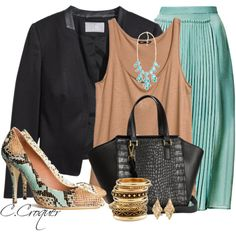All H&M, created by ccroquer on Polyvore