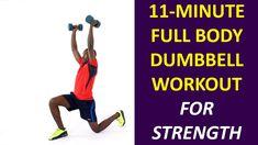Full Body Dumbbell Workout for Strength (Beginner Workout)