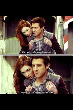 Amy & Rory Pond Doctor Who