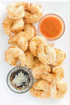 Air Fryer Shrimp Tempura is a tasty dish you can make in minutes. Get the easy recipe for panko breaded fresh shrimp that is crispy on the outside and cooked to perfection in an air fryer. It's the best way to make and enjoy a shrimp tempura appetizer or dinner at home. #shrimprecipes #airfryerrecipes #tempura #quickandeasyrecipe Best Seafood Recipes, Sushi Recipes, Shrimp Recipes, Tempura Sushi, Shrimp Tempura, Breaded Shrimp, Fried Shrimp, Tempura Recipe, Copykat Recipes