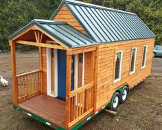 Tiny House Shells for sale by Tiny House Basics 01 Tiny Mobile House, Tiny House Talk, Tiny House Nation, Tiny House Living, Tiny House Plans, Tiny House Design, Small Houses On Wheels, Tiny Houses For Sale, Small Space Living