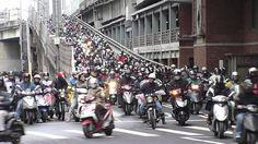 Rush Hour in Taipei, Taiwan