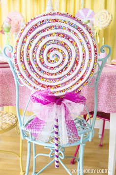 This candy-coated party will satisfy any sweet tooth.