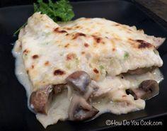 Chicken, Poblano and 3 Cheese Lasagna