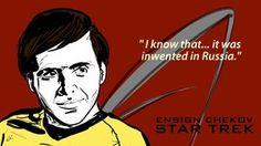 Every time. Star Trek: Chekov by Star Trek Chekov, User Profile, Fandoms, Fan Art, Deviantart, Stars, Movie Posters, Movies, Fictional Characters