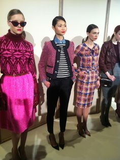 bold colors for fall - J Crew F12