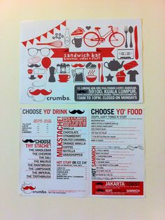 Crumbs Cafe ( Menu & Promo items ) by Fingo , via Behance