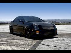2007 D3 Cadillac CTS-V - Front Angle - 1024x768 - Wallpaper