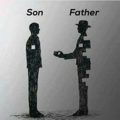 Deep meaning. Son father.